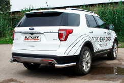 Уголки d76 Ford Explorer (2018)